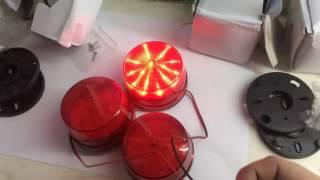 Маяк мигалка с aliexpress 12 вольт