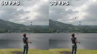 Youtube at 60 FPS - comparison with 30