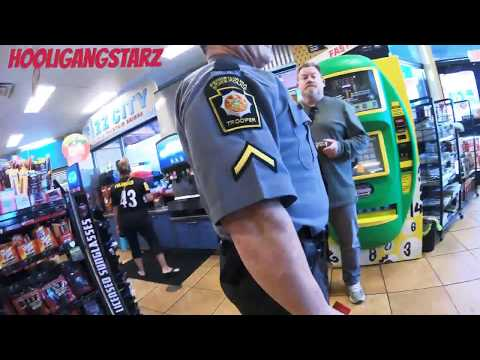 PA state trooper gets confronted for speeding ...  left him speechless