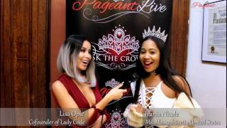 Ms Massachusetts United States Ivania Nicole - PageantLive NY with Lisa Opie