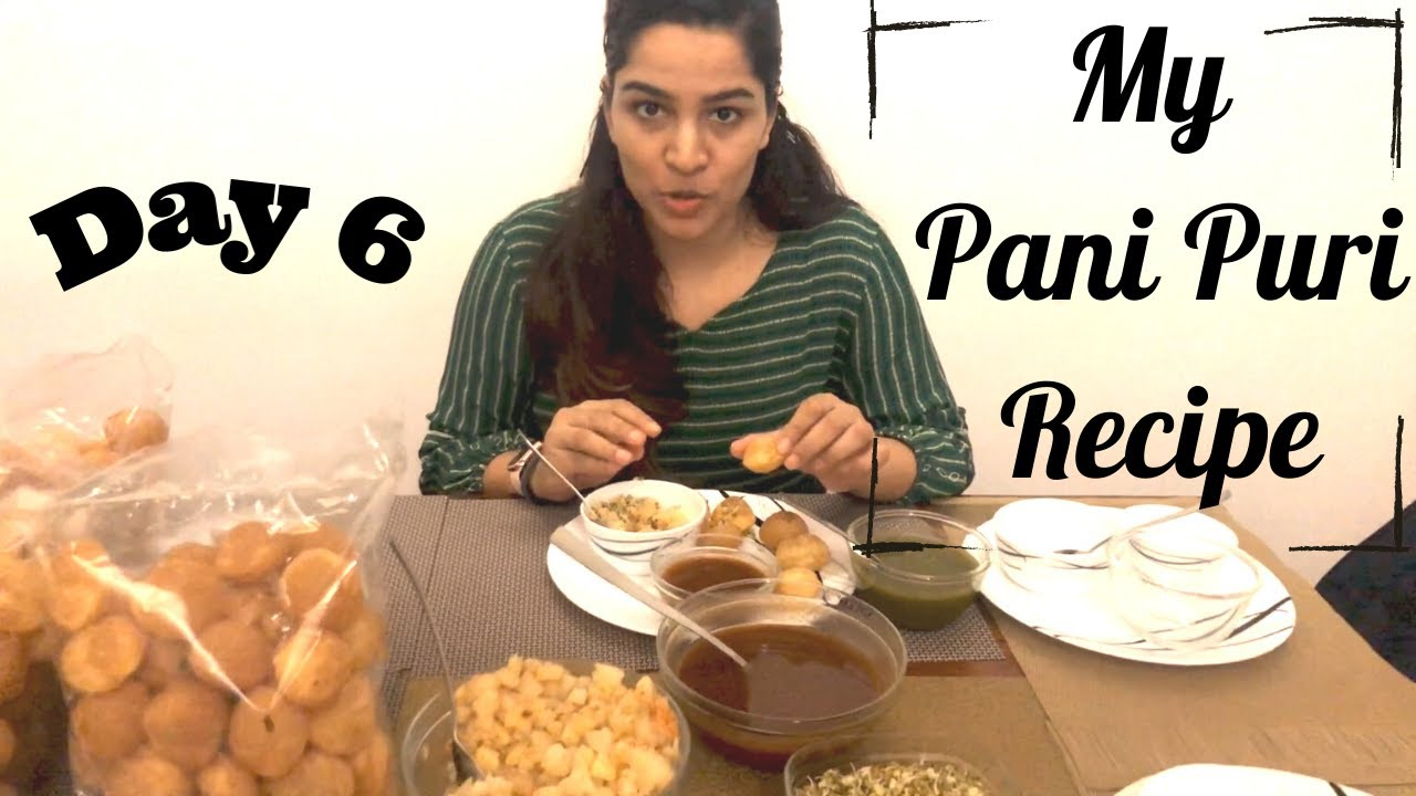 My Pani Puri Recipe | Shikha Singh | Golgappa | Chaat | Indian Street Food