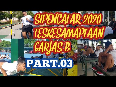 Tes Kesamptaan Garjas B Sipencatar 2020 Di PPI Madiun #Part.03