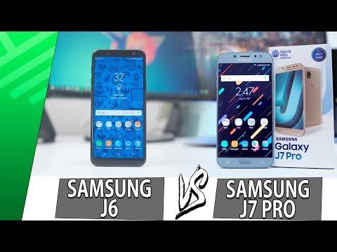 Samsung J6 VS Samsung J7 Pro | Enfrentamiento | Top Pulso
