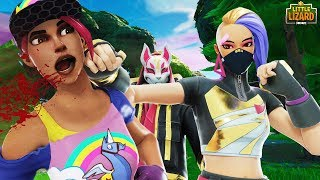 BEACH BOMBER and CATALYST FIGHT over DRIFT!!! - Fortnite Season X