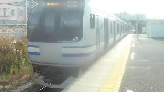 【JR横須賀線】 E217系Y-143編成 普通 逗子行き 久里浜発車