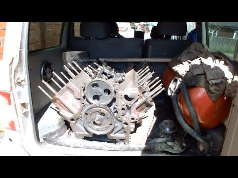Ямз-238 Вторая реинкарнация Привёз блок в багажнике Уаз Патриот