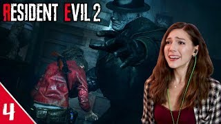 Being Tossed Around! (by Mr. X) | Resident Evil 2 Remake Pt. 4 | Marz Plays