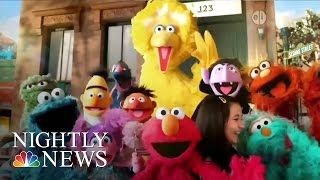 Inspiring America: Julia, An Autistic Muppet, Makes Her TV Debut | NBC Nightly News