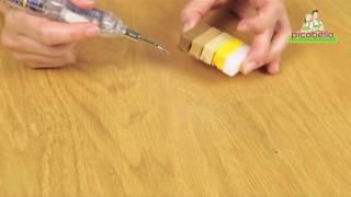 Set na opravu voskovaných nebo olejovaných dřevěných podlah