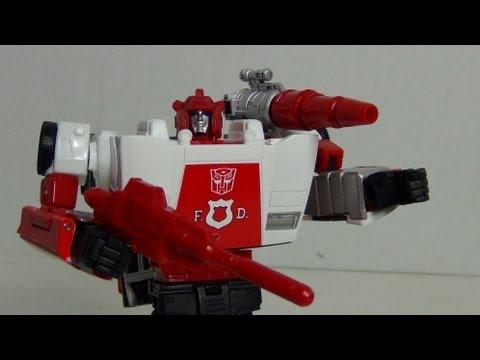 Knock Off (KO) | Transformers Masterpiece MP-14 ALERT (aka Red Alert) review