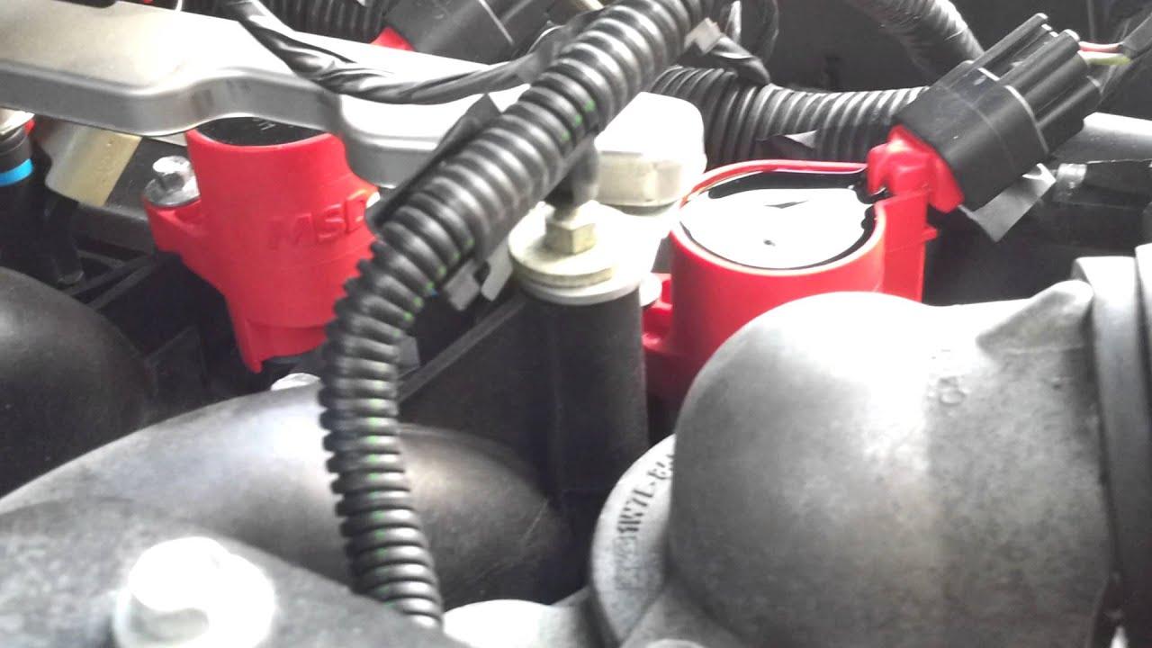 Msd coils crown victoria police interceptor