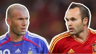 Zinedine Zidane vs Andres Iniesta ● Who is the best Maestro ?