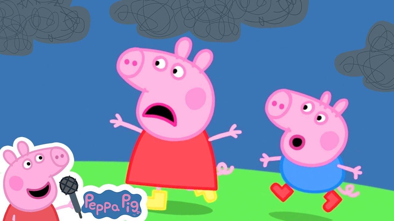 Rain Rain Go Away Song   Peppa Pig Songs   Nursery Rhymes + Kids Songs