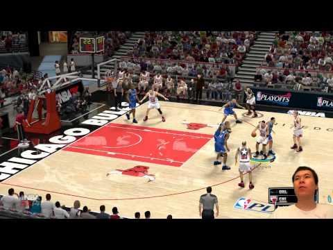 NBA 2K14 - That Classic Bulls Mascot