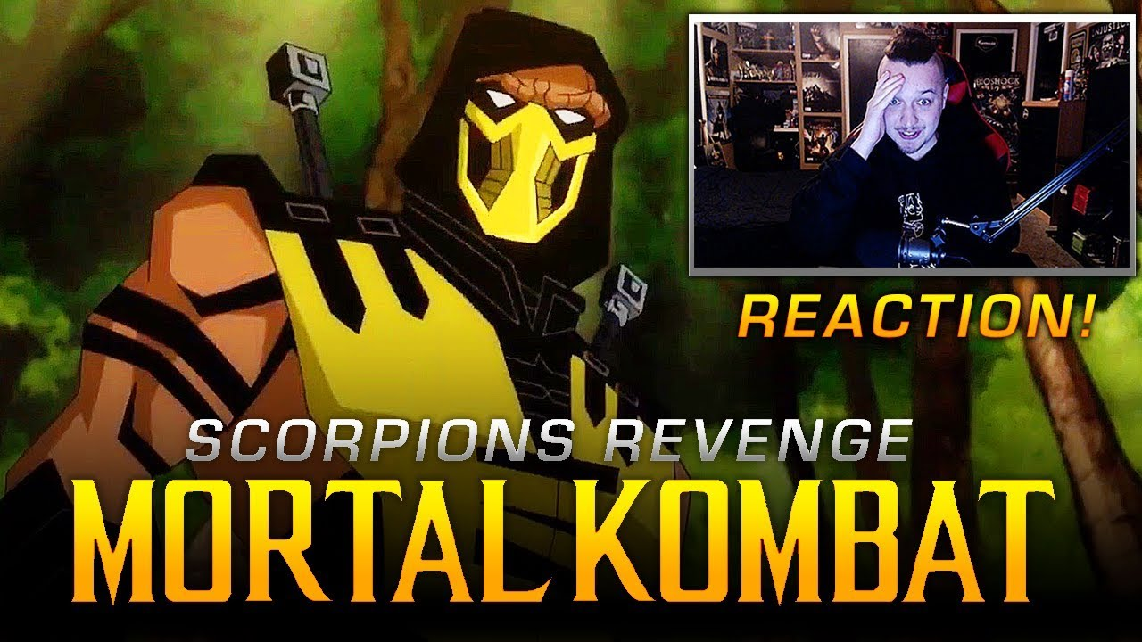 new mortal kombat movie scorpions revenge