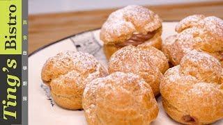 法式經典甜點 - 巧克力卡士達泡芙 Profiterole 客座系列 黑手甜點