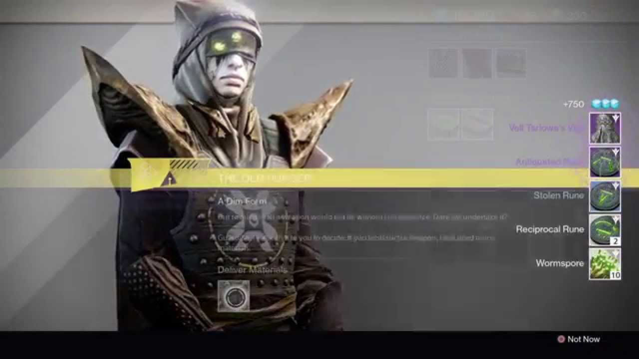 Destiny - Touch of Malice Quest Part 7: Hunger Pangs - Talk to ...