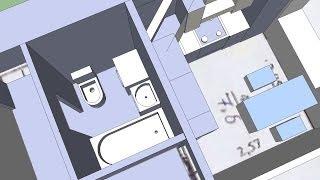 Ремонт ванной комнаты, туалета и кухни в брежневке.  Вариант перепланировки(Наш сайт http://remontmaker.ru/ Брежневские квартиры изначально тесные и убогие. Многие из них совершенно не поддаютс..., 2014-05-04T17:00:06.000Z)
