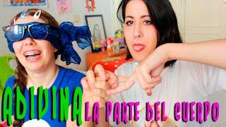 ADIVINA LA PARTE DEL CUERPO (CON HOLLY MOLLY) | ADELITA POWER