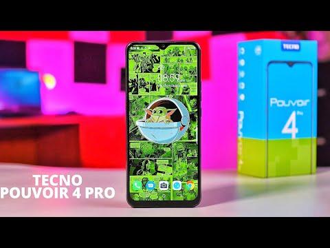 TECNO Pouvoir 4 Pro - Unboxing & Review - Battery King!!!