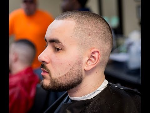 How to do a BALD FADE haircut (Start to Finish)