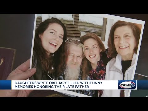 Daughters Write Obituary Filled With Funny Memories Honoring Their Late Father