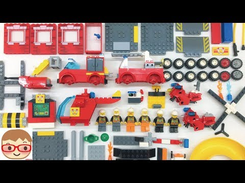 Fire truck assembly for kids | Fire engines for children | Toy car video for kids