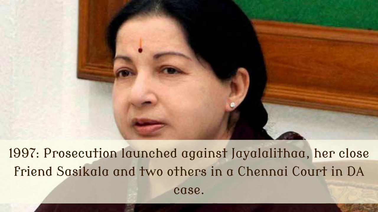 Tamilnadu Chief Minister J Jayalalitha (Amma) Political Career