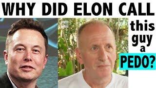 Why Elon Musk called Thai Cave Diver, Vern Unsworth, a Pedo