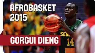 Gorgui Dieng - Amazing Performance v Mozambique - AfroBasket 2015