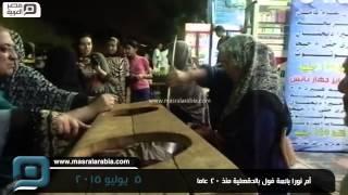 مصر العربية | أم نورا بائعة فول بالدقهلية منذ 20 عاما