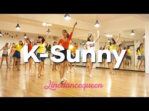 K-Sunny Line Dance (Improver) Junghye Yoon Demo