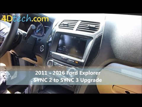 SYNC 2 to SYNC 3 Upgrade | 2011 - 2016 Ford Explorer