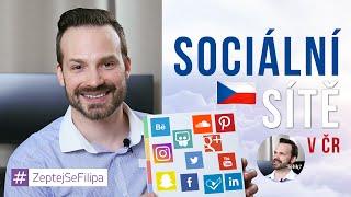 Sociální sítě v ČR - ZeptejSeFilipa (23. díl)