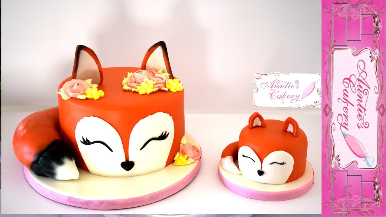 Mommy Fox And Her Kit Smash Cakes Youtube