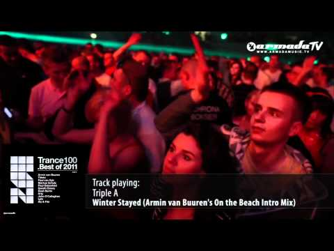 Клип Triple A - Winter Stayed - Armin van Buuren