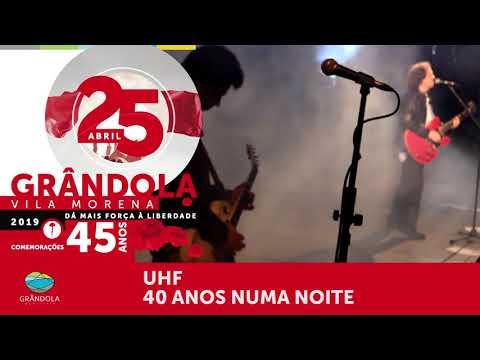 Vídeo promocional Comemorações do 25 Abril 2019 - Grândola