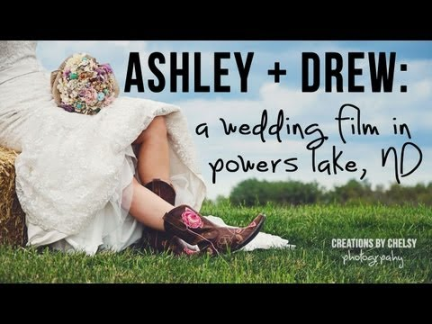 Ashley + Andrew: A Wedding Film in Powers Lake, ND