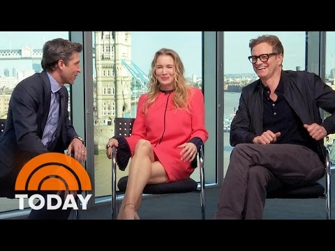 'Bridget Jones's Baby': Renee Zellweger And Her Leading Men Dish On Their Love Triangle | TODAY