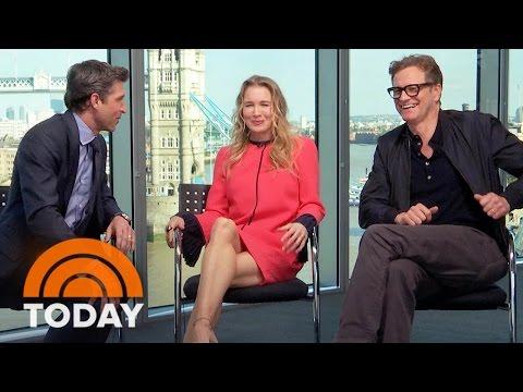 'Bridget Jones's Baby': Renee Zellweger And Her Leading Men Dish On Their Love Triangle | TODAY