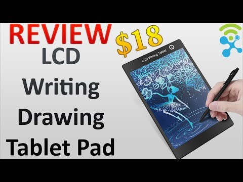 $18 HOWSHOW Portable Colorful LCD Writing Drawing Board Tablet Pad Notepad Electronic Graphics