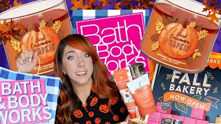 🍂COZY AF!🍂  NEW FALL BATH AND BODY MUST HAVES!! + CANDLE HAUL! | HALLOWEEN HAPPY