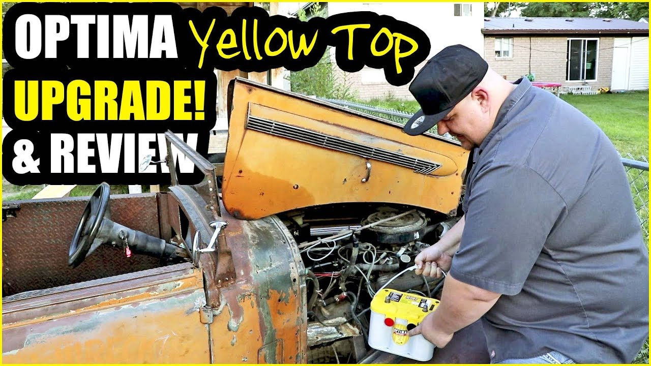 Rat Rod Optima Yellow Top Upgrade And Review Never Done Vlog