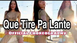 Que Tire Pa' 'Lante | Daddy Yankee |Official Choreography Video| MoinaOfficial.mp3
