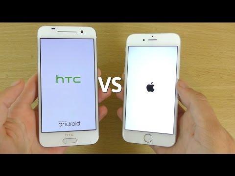 HTC One A9 VS iPhone 6S - Speed & Camera Comparison!