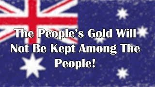 Adams/North: The People's Gold Will Not Be Kept Among The People