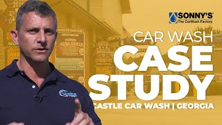 Aqua Blue Self-Serve Car Wash Business Case Study Overview - Conversion to Fusion Express Tunnel