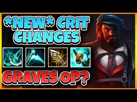 100% CRIT GRAVES *REVERTED CRIT + NEW ITEMS* | Tarzaned