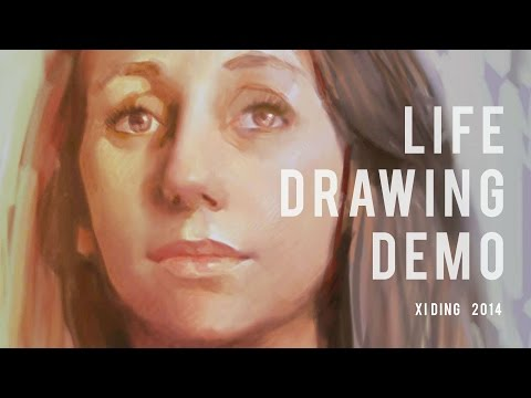 Galaxy Note 4 - Life Painting Demo