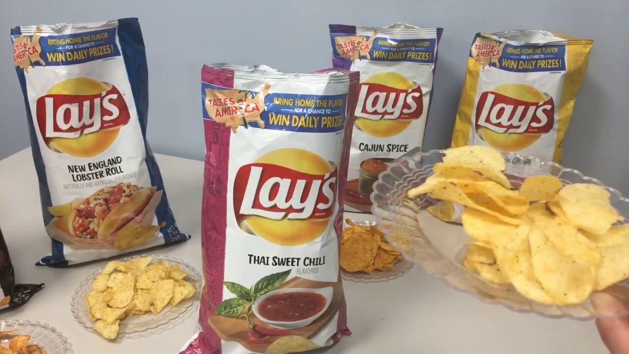 Lay's Taste of America chips taste-test: New England got the worst flavor